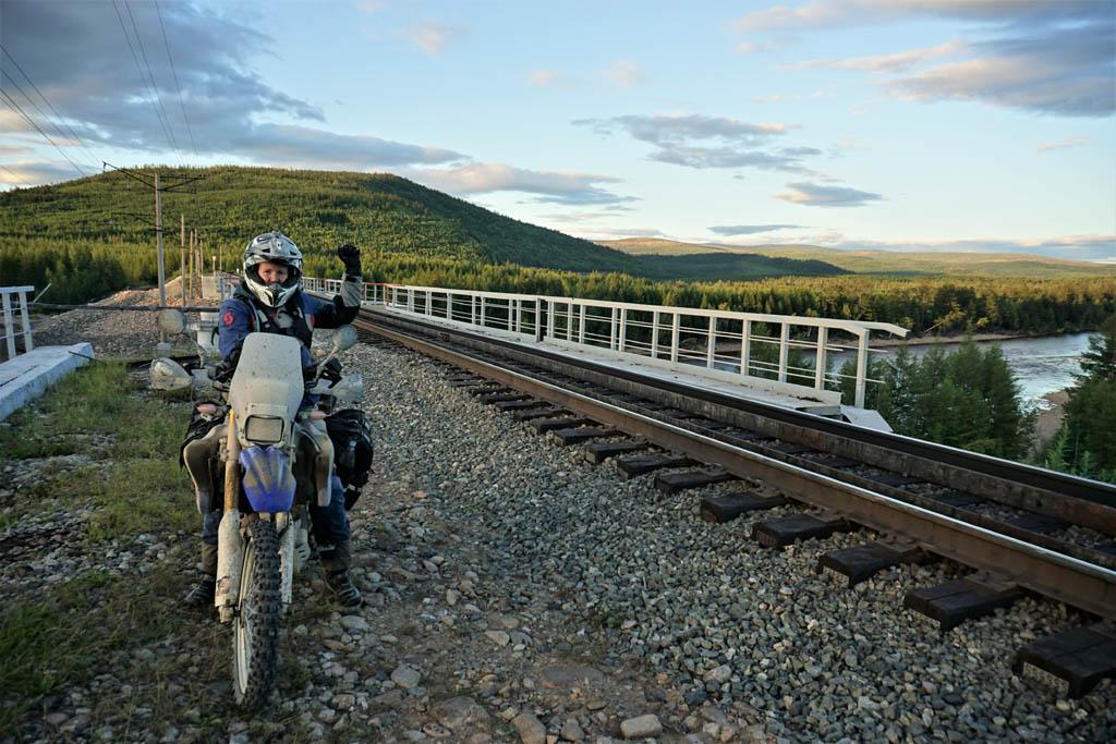 Riding the legendary BAM Road in Siberia DSC08067